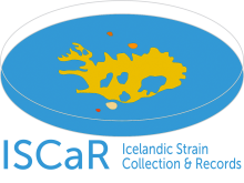 ISCaR - Icelandic Strain Collection and Records